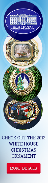 2013 White House Christmas Ornaments