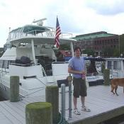 This marina is located right in the heart of Olde Town Alexandria.