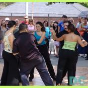 Salsa is a partner dance form that corresponds to salsa music.