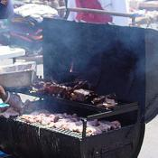 The festival had a wide selection of mouthwatering food available.