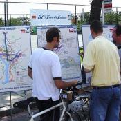 Metro was on hand to explain DC's Transit Future to the public.