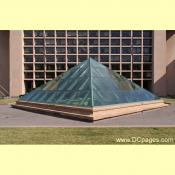 Large Glass Pyramid