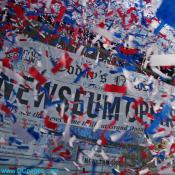 Red, White and Blue Confetti