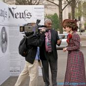 Nellie Bly discusses her role in history