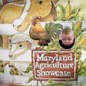 Baby Luke Supports The Maryland Agriculture Showcase Program