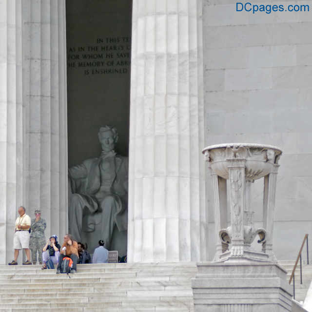 East Exterior View - Lincoln Memorial - Abraham Lincoln Memorialized In