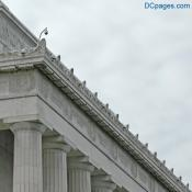 North East Exterior View - Lincoln Memorial Saw-Tooth Cornice
