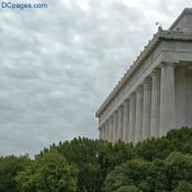 North East Exterior View - Lincoln Memorial
