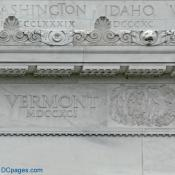 North Exterior View - Lincoln Memorial Cornice Restoration