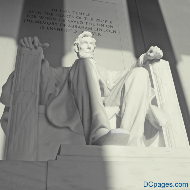 The Lincoln Memorial Statue Of Abraham Lincoln