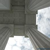 Lincoln Memorial - Coffered Or Lacunaria Ceiling