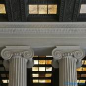 Lincoln Memorial - Interior Cornice Detail & Column Capitol