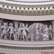 US Capitol - Rotunda Relief - Cortez and Montezuma