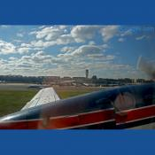 Our plane flies out from Reagan National airport.
