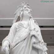 Emancipation Hall - Statue Of Freedom - Close Up