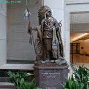 Emancipation Hall - Chief Washakie Bronze Statue