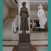 Emancipation Hall - Jeannette Rankin Bronze Statue