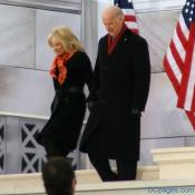 Jill Biden with Vice President-elect Joe Biden