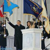 President-elect Barack and Michelle Obama