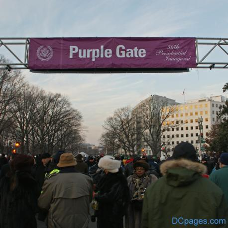 Purple Gate: Obama Inaugural Purple Ticket-Holder Turmoil