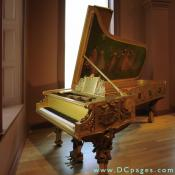 Second Floor - Gilded Age - This Piano is wonderful work of art.