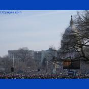 Jam-packed inaugural crowd