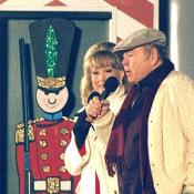 Roy Clark and Barbara Eden join to sing a holiday duet