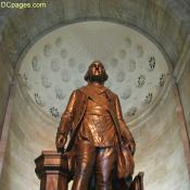 Seventeen foot-tall statue of George Washington: George Washington Masonic Memorial