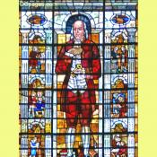 Benjamin Franklin Stained Glass Window