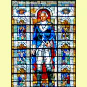 Dr. Joseph Warren Stained Glass Window