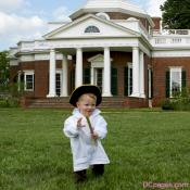 Luke Jr. takes a walk on the wild side, Montecello, Virginia, Summer, 2009