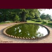 Fish pond at Monticello