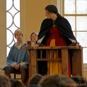 Salem Witch Trial reenactment