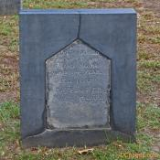American gravestone from 1692