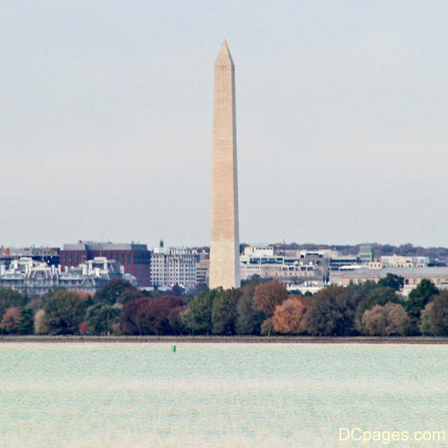 East view of George Washington National Monument