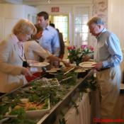 Mother's Day buffet at Mount Vernon