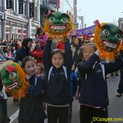 CACC's young girls with dragon heads