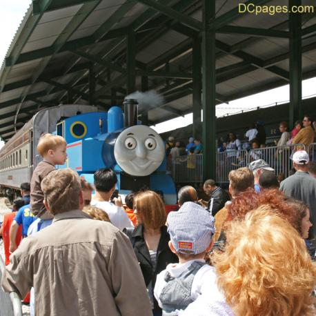 Thomas the Tank Engine - Baltimore and Ohio Railroad Museum