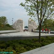 Martin Luther King Jr. Memorial Entrance