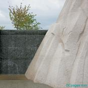 Waterfall at Martin Luther King Jr. National Memorial