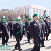 St Patricks Day Parade - Emerald Society DC Fire Department