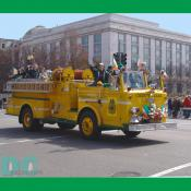 National Saint Patricks Day Parade - Chevy Chase, Maryland Fire Department