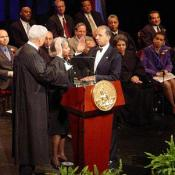 Mayor Anthony A. Williams swearing in