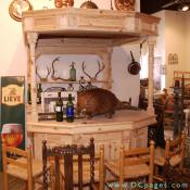 Onslow Square Antiques - Pub bars and pub paraphenalia for the light hearted.