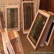 Onslow Square Antiques - The largest collection of stained and leaded glass in the area, always hundreds to choose from. Large panels, doors, and door facades from England and the Continent. Catering to the Creative, Architects and Home Builders.