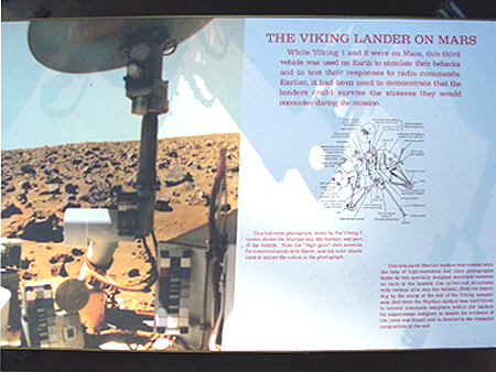 Although this particular Viking Lander didn't join his brothers on Mars he still did alot for Earth.