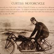 A picture of the Curtis Motorcycle.