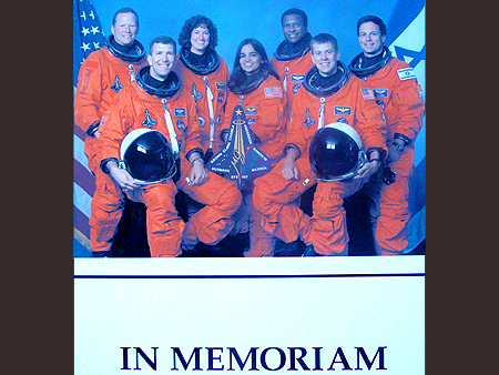 The Space Shuttle Columbia Disaster happend on Saturday 1st, February, 2003