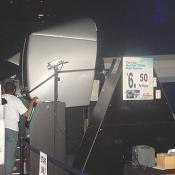 Flight Simulator Zone allows visitors to control a first-of-its-kind fully aerobatic ride.