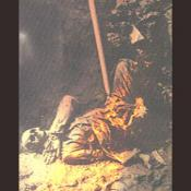 This photograph is of a dead soldier in a trench during WW I.